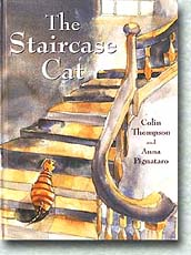 The Staircase Cat